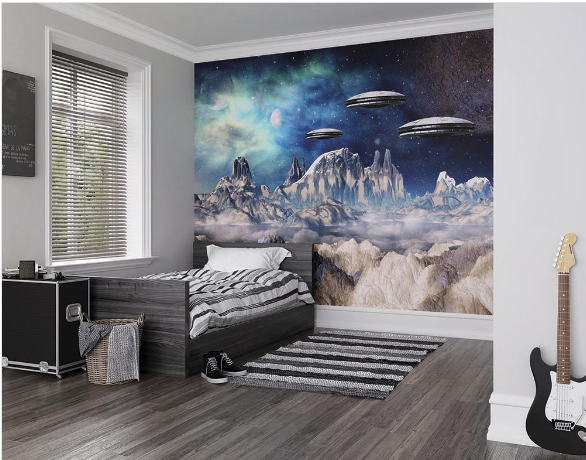 Spacecraft Ready Made Wall Mural