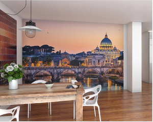 church built in the Renaissance style located in Vatican City, the papal enclave which is within the city of Rome will add vibrancy and memories to any room in the house! Perfect Wallpaper Mural.