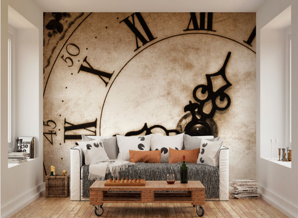 Timepiece Made Wall Mural
