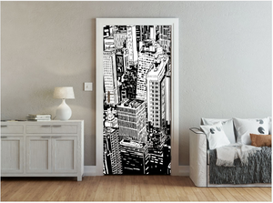 Urban Heights Ready Made Door Mural