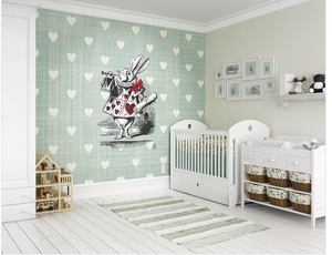 Wonder Heart Wall Mural - (3.0m x 2.4m/ 3.5m x 2.8m)