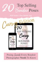 Load image into Gallery viewer, 20 Top Selling Boudoir Poses Guide: CURVY EDITION
