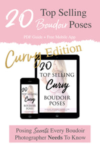 20 Top Selling Boudoir Poses Guide: CURVY EDITION