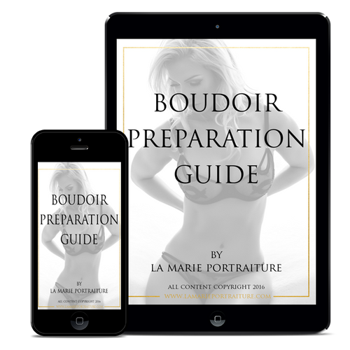 Customizable Boudoir Preparation Guide (FOR PHOTOGRAPHERS)