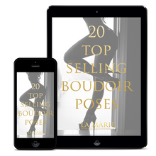 Load image into Gallery viewer, 20 Top Selling Boudoir Poses Guide