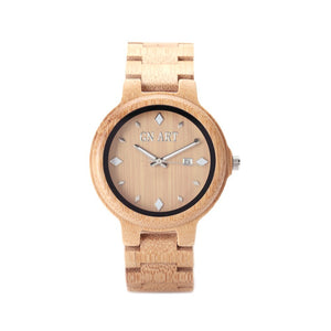 Bamboo Minimalist Watch