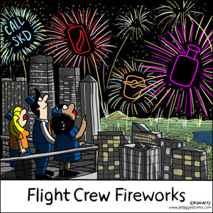 Flight Crew Fireworks