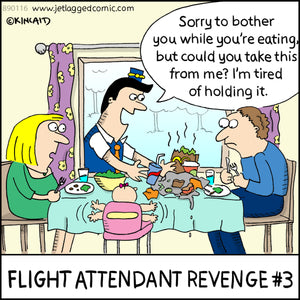 """Flight Attendant Revenge #3"" 16008 Digital Download"