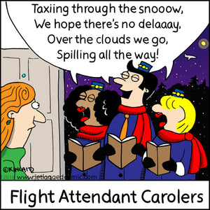 """Flight Attendant Carolers"" 16043 Digital Download"