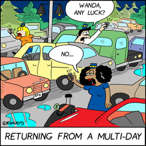 """Returning From a Multi-Day"" 17016 Digital Download"