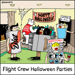 """Flight Crew Halloween Parties"" 17086 Digital Download"