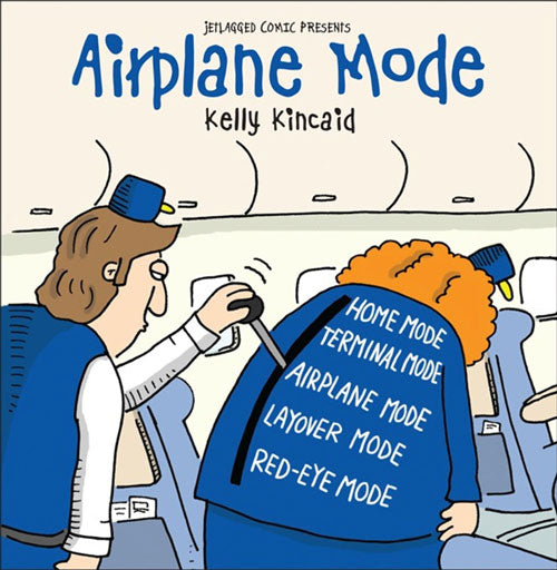 Jetlagged Comic Airplane Mode cover