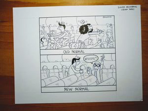 "Original Art of ""New Normal"""