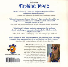 Jetlagged Comic Airplane Mode back cover