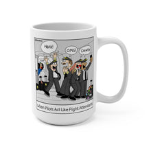 """Pilots Acting Like FAs"" Collector's Mug"