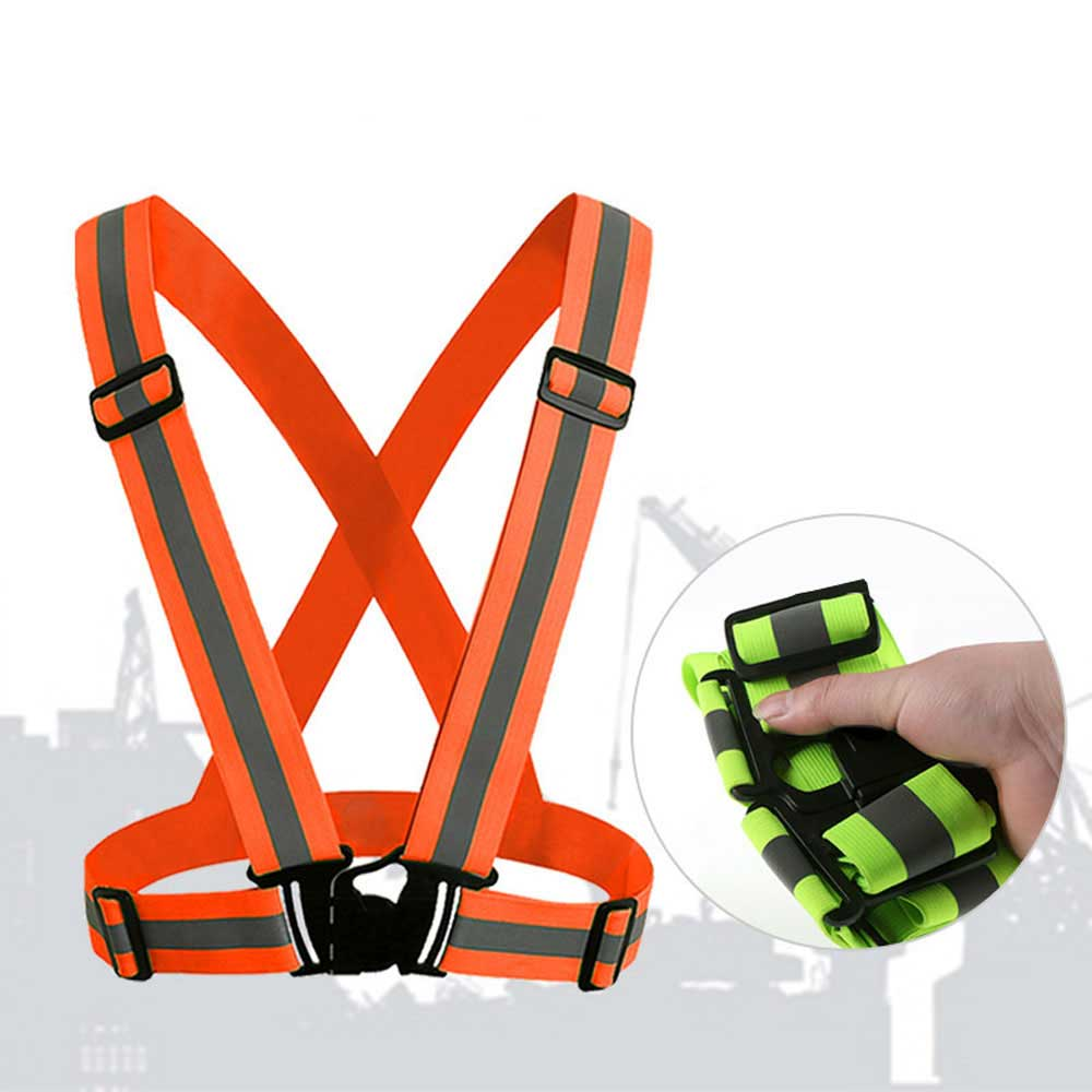 360 Degrees High Visibility Neon Safety Vest