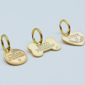 3D Deep Engraved Tags