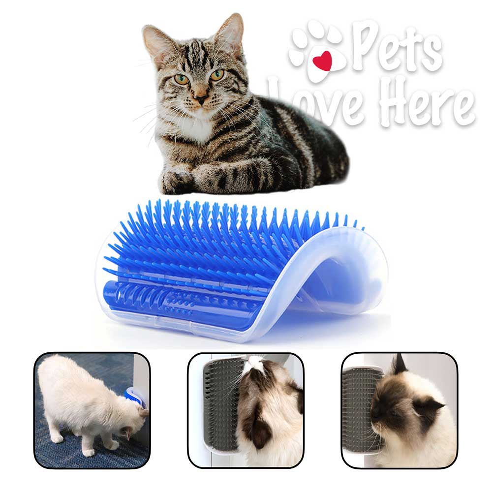 Cat Self Groomer With Cat nip