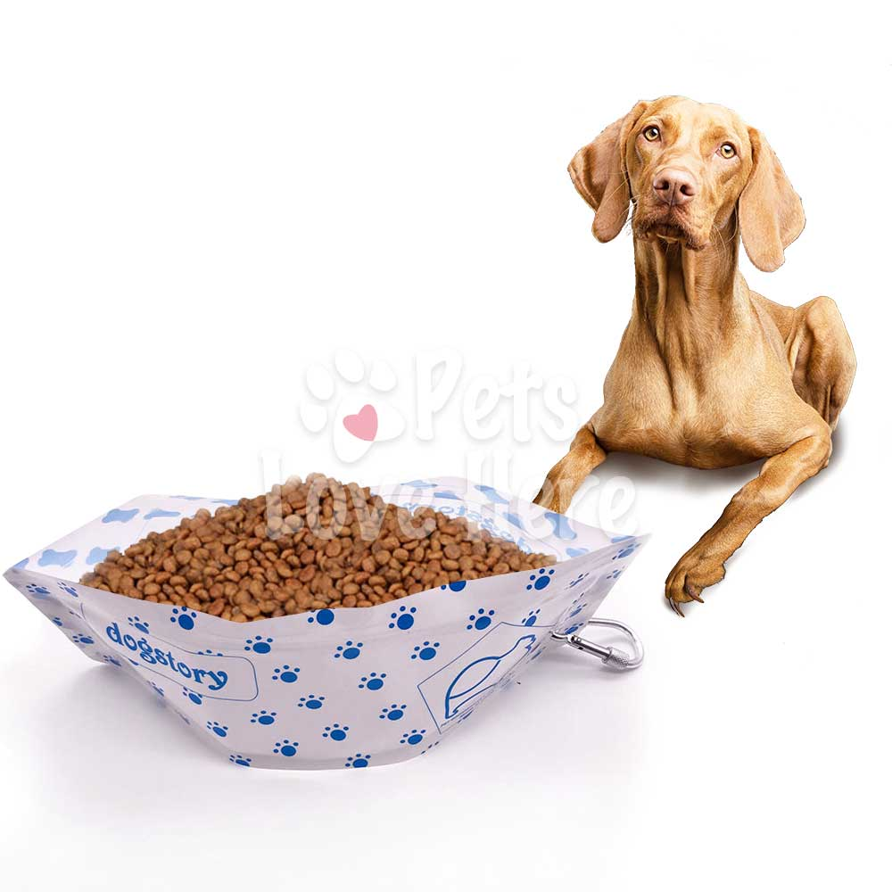 Eco-Friendly Pet Foldable Water/Food Bowl