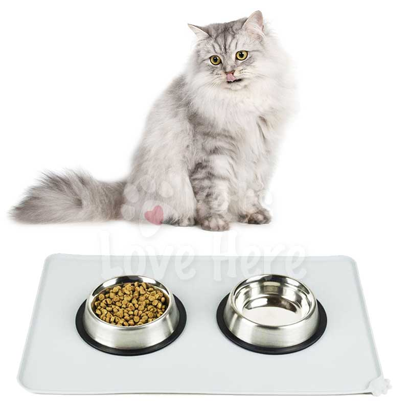 Waterproof Feeding Mats For Cat & Dog Bowl
