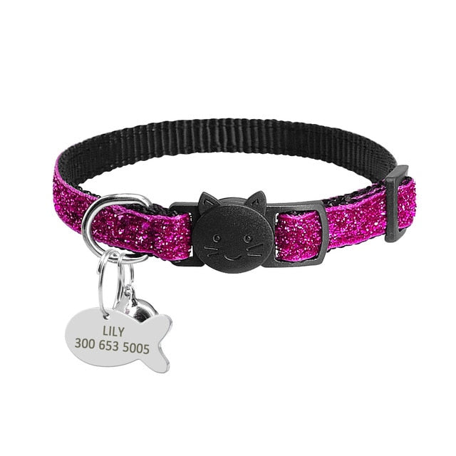 Personalized Kitten Collars