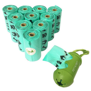 Environmental Friendly Dog Poop Bags(180 Counts 10 Rolls)