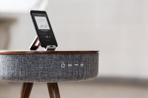 dekota bluetooth side table