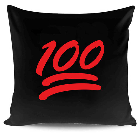100 Emoji Poop Funny Twitter Pillow Case Cover