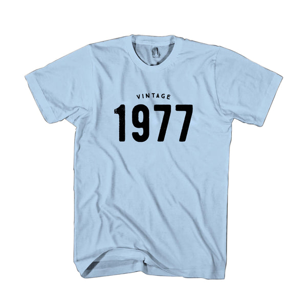 1977 Vintage 40th Birthday Gifts Funny Retro Man's T-Shirt