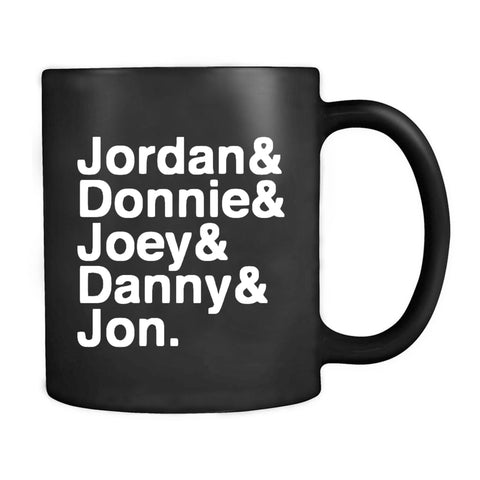 1980s Hangin Tough Joey McIntyre Jordan Knight Donnie Wahlberg Boy Band Fandom Nkotb Mug