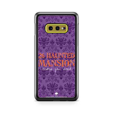 26 Haunted Mansion Samsung Galaxy S10 Case