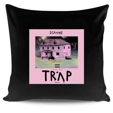 2 Chainz Album Cover Graphic Hip Hop Pretty Girls Trap Pillow Case Cover