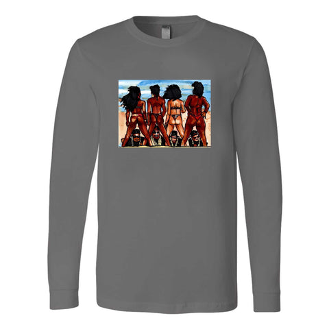 2 Live Crew As Nasty As They Wanna Be Hip Hop New Miami Florida Rap Uncle Luke Long Sleeve T-Shirt
