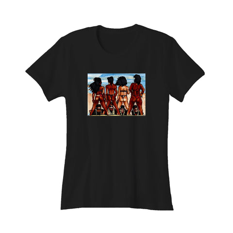 2 Live Crew As Nasty As They Wanna Be Hip Hop New Miami Florida Rap Uncle Luke Women's T-Shirt