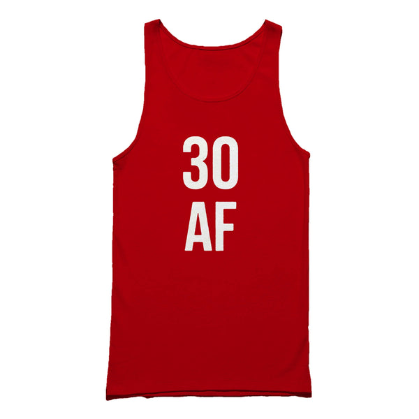 30 Af birthday Dirty Thirty Thirtieth Gift For Her Tank Top