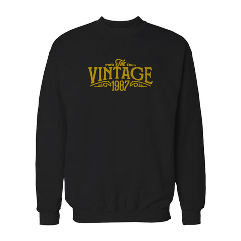 30th Birthday For Her The Vintage 1987 Graphic Gift Ideas Sweatshirt
