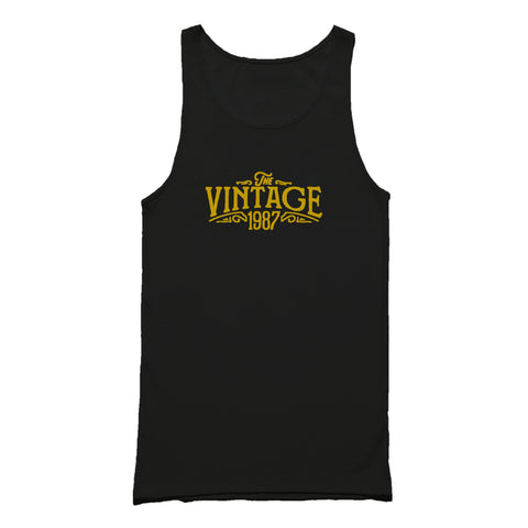 30th Birthday For Her The Vintage 1987 Graphic Gift Ideas Tank Top