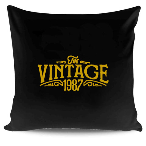 30th Birthday For Her The Vintage 1987 Graphic Gift Ideas Pillow Case Cover