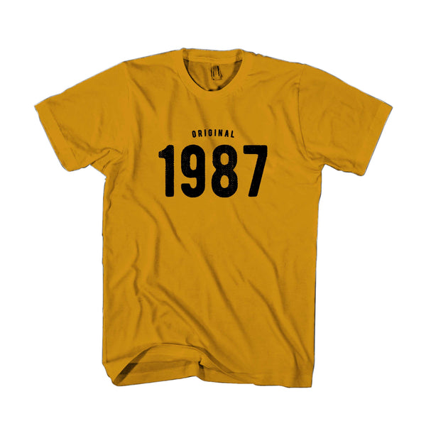 30th Birthday For Him And Her Original 1987 Gift Ideas Man's T-Shirt