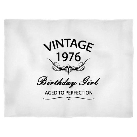 55th Birthday Original Vintage Aged To Perfection 1962 Gift Funny Blanket