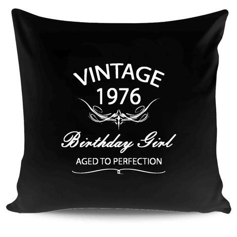 55th Birthday Original Vintage Aged To Perfection 1962 Gift Funny Pillow Case Cover