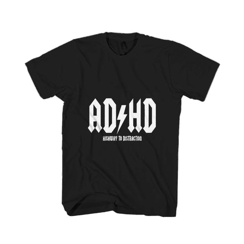 Ad Hd Highway To Distraction 2 Man's T-Shirt