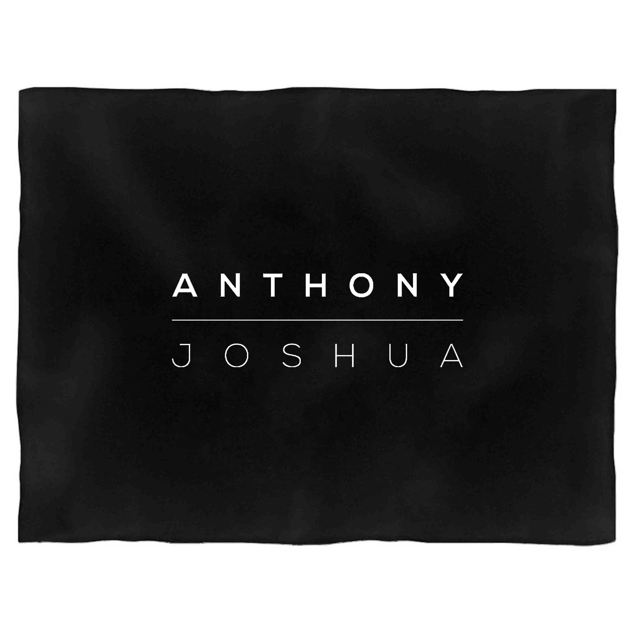 Anthony Joshua Heavyweight Champion Gym Training Aj Boxing Hood Legend Blanket