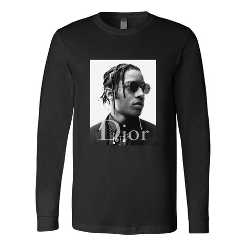Asap Rocky Hip Hop Rapper Long Sleeve T-Shirt