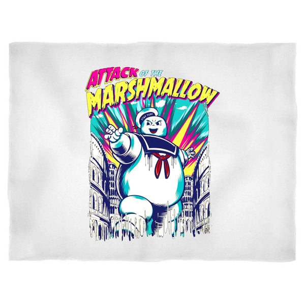 Attack Of The Marshmallow Ghostbusters Design Blanket