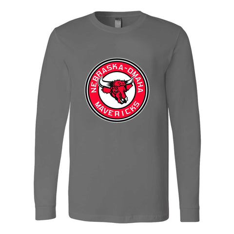 Authentic Re Creation Of The 1970s Portland Mavericks Baseball Club Long Sleeve T-Shirt
