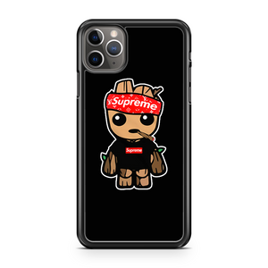 Baby Groot Lv Type Supreme Style Inspired   iPhone 11 Pro Max Case