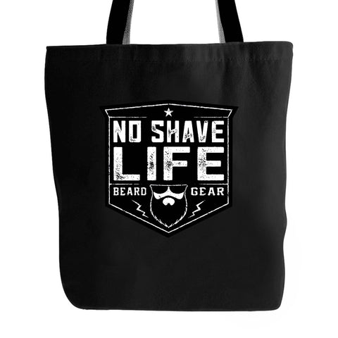 Beard Gear Shield No Shave Life Beard Co Brand Tote Bag