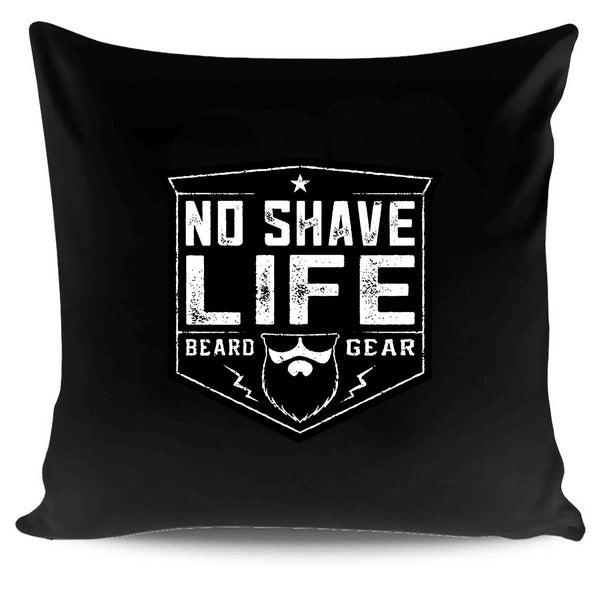 Beard Gear Shield No Shave Life Beard Co Brand Pillow Case Cover