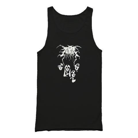 Black Metal Funny Abba Darkthrone Humor Saying Proverbs Tea Heavy Metal Awesome Slogan Tank Top